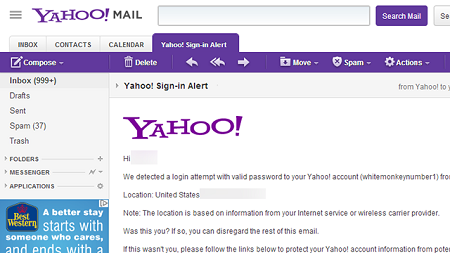 www.YahooMail.com Login Account Sign In Yahoo Mobile