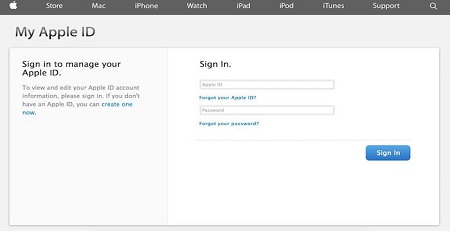 iTunes Login Sign In Online Account